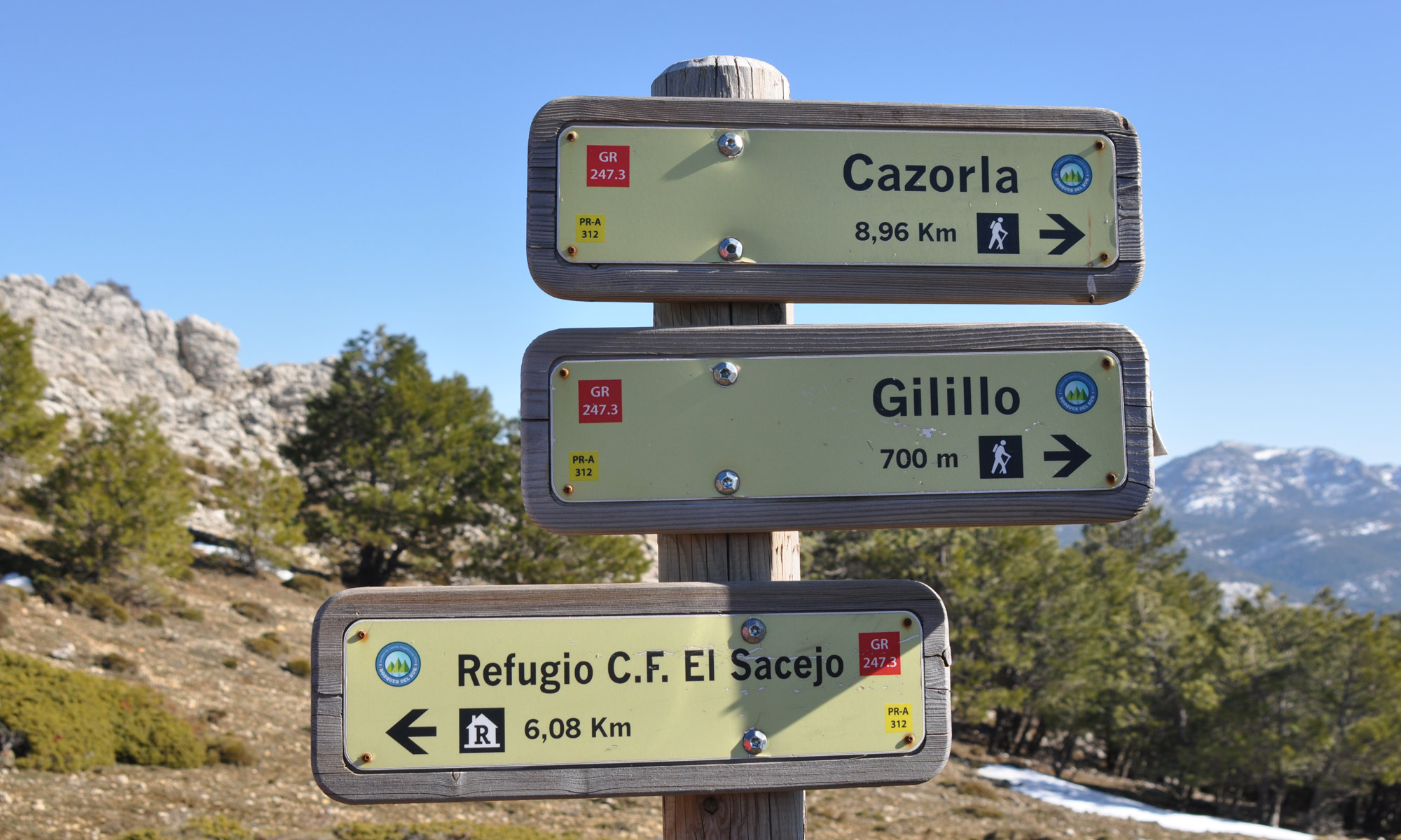 Wandelroute GR-247 Andalusië Sierra de Cazorla