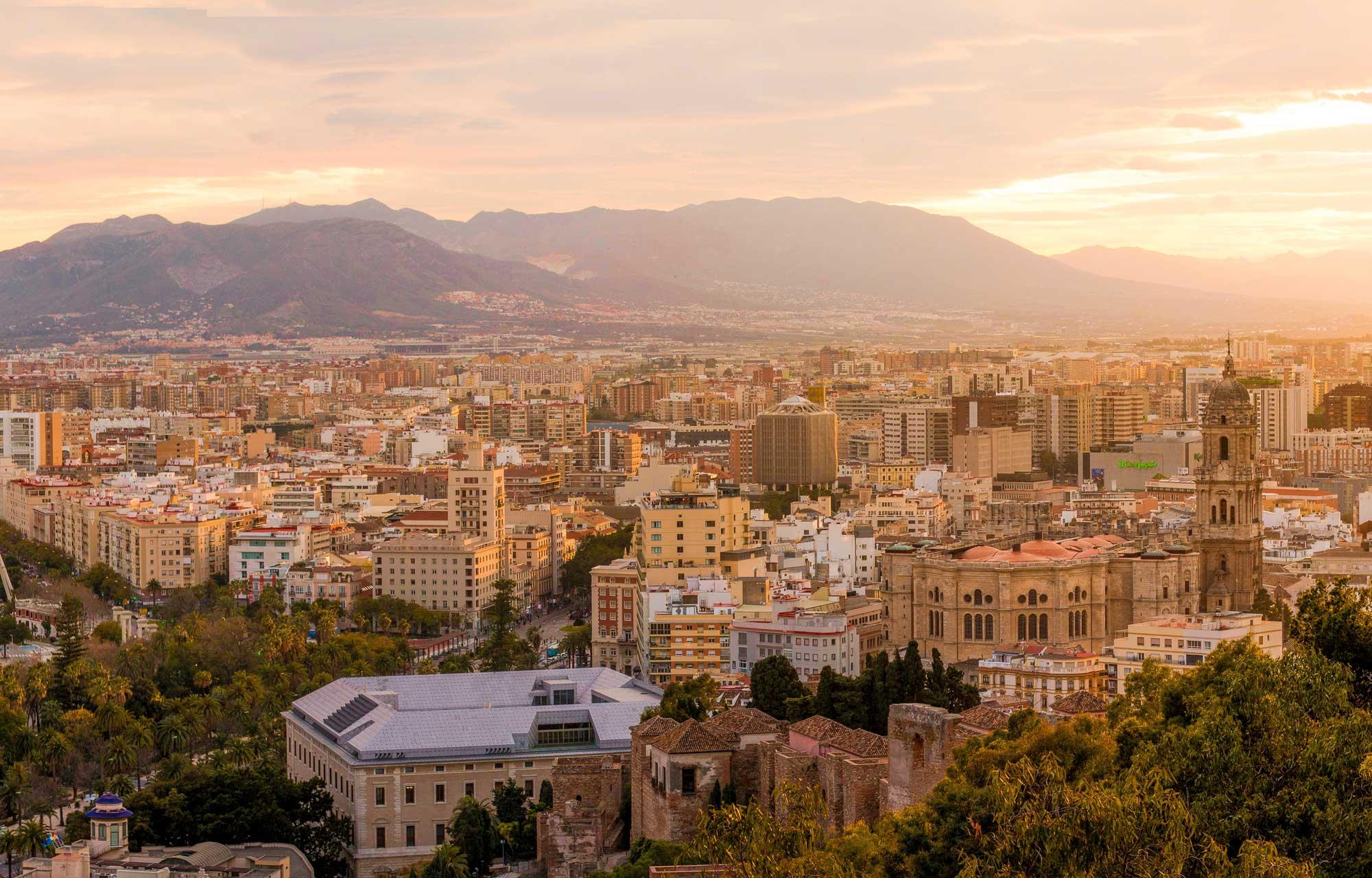 Wandelen in omgeving Málaga