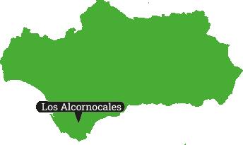 Locator Los Alcornocales