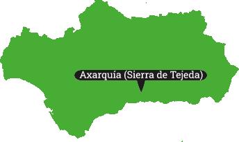 Locator sierra de Tejeda