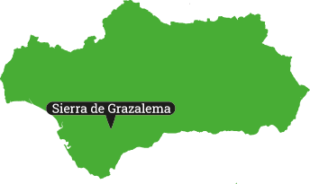 Locator Sierra de Grazalema