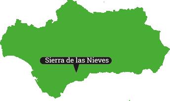 Locator Sierra de las Nieves