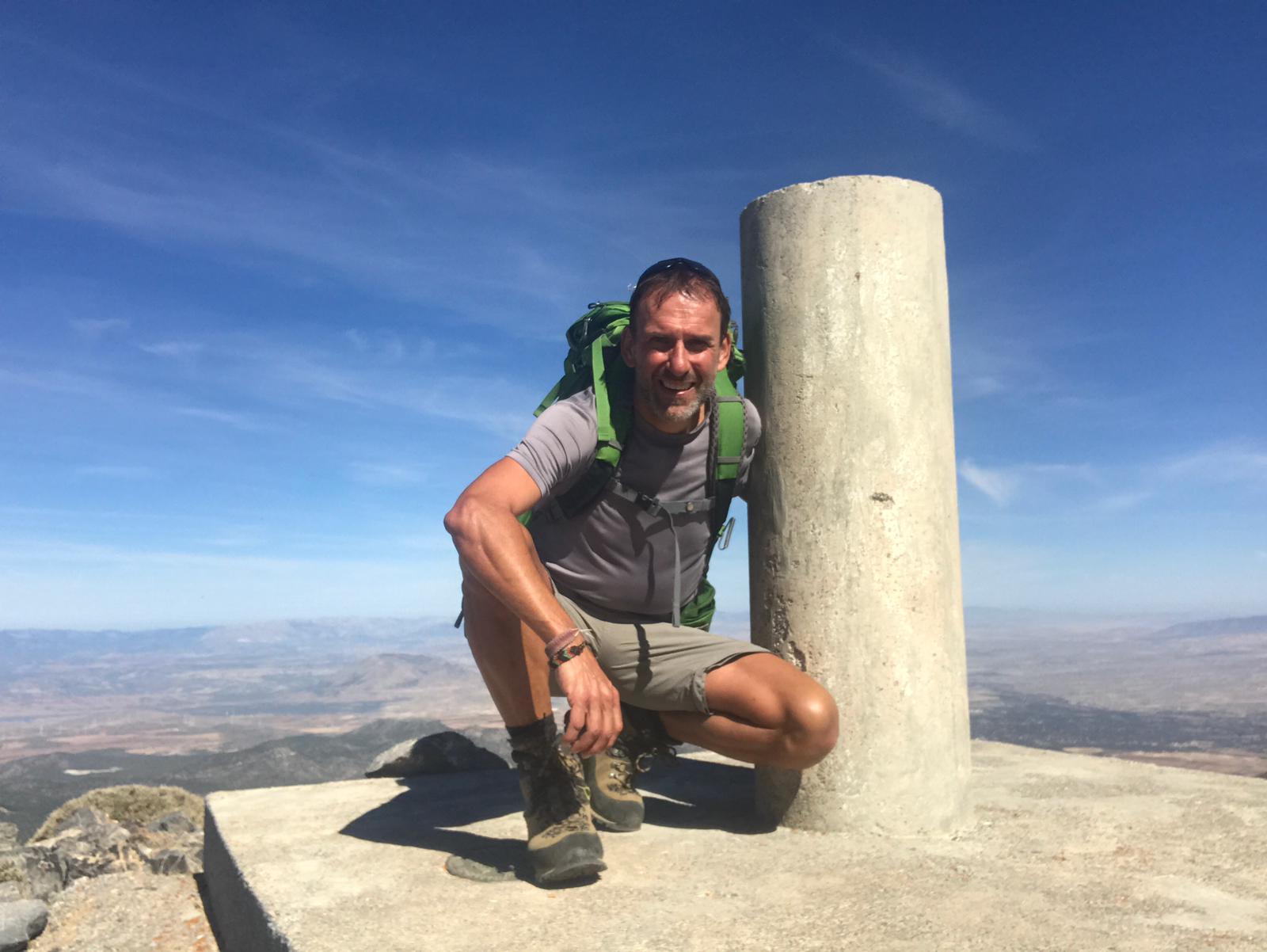 Bergtop Santa Bárbara Sierra de Baza