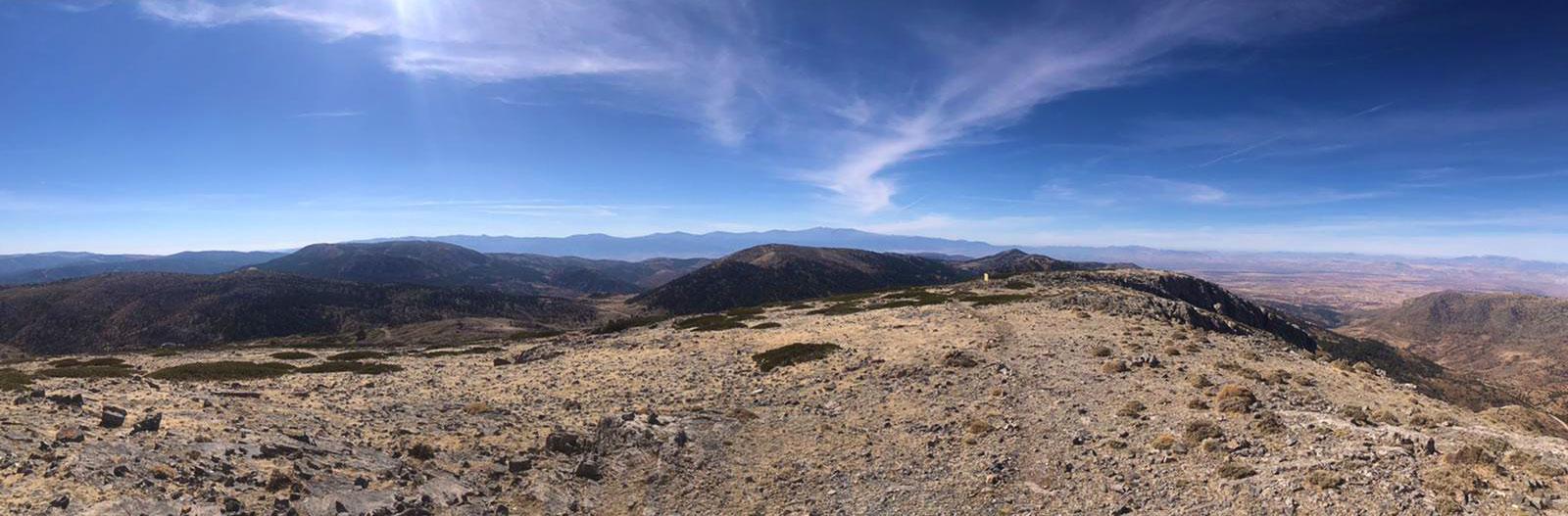 Bergtop Sierra de Baza Santa Barbara
