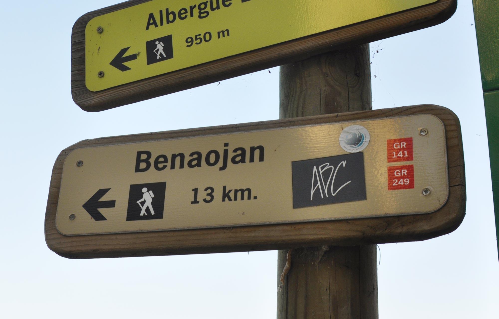 Wandelen Andalusie, GR-141