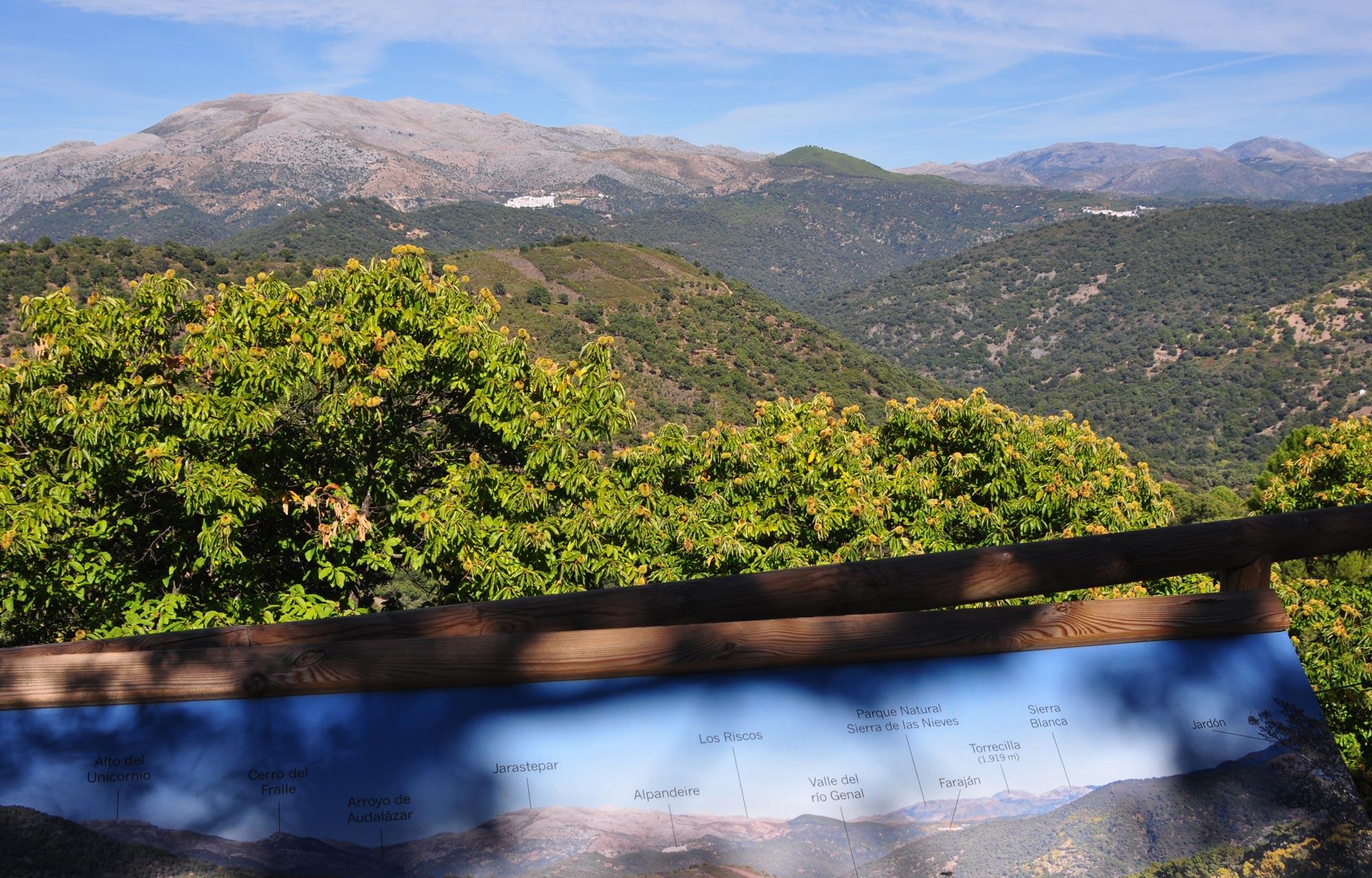 Wandelen in Andalusië GR-141 wandelroute